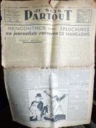 JE SUIS PARTOUT  REDACTEUR  ROBERT BRASILLACH AVEC L'UN DE SES ARTICLES  VENDREDI 23 AVRIL 1943 - Riviste & Giornali