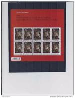 Belgie -Belgique 4278 Velletje Van 10 Postfris - Feuillet De 10 Timbres Neufs  - Tentoonstelling Jacob Jordaens - Feuilles Complètes
