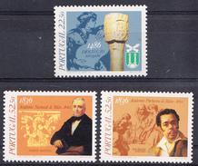PORTUGAL 1986.DATAS DA HISTORIA DE PORTUGAL .AFINSA. Nº 1768/70  NUEVO SIN CHARNELA .SES462GRANDE - 1910-... República