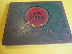 Boite En Fer Vide/Cigarettes/Lucky Strike/ American Tobacco/USA /Vers1940-60     BFPP106 - Other