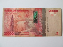 Uganda 20000 Shillings 2010 - Oeganda