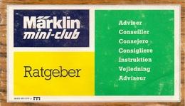 Instructie Boekje Treinen Spoor Marklin Rails Train - Rails