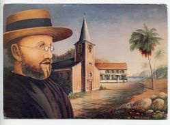 015P Pater Damiaan, Pere Damien, Father Damien, Pater Damiaan  (Clem Van Leemput 1989) - Saints
