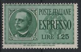 1932-33 Espresso 1,25 L. MNH - 1861-78 Victor Emmanuel II.