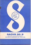 Instructieboekje Bromfiets Sachs 50/2 - Sciences & Technique