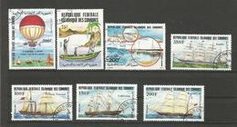 Lot De Timbres Comores - Boten