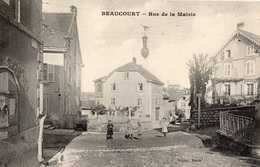 BEAUCOURT RUE DE LA MAIRIE - Beaucourt