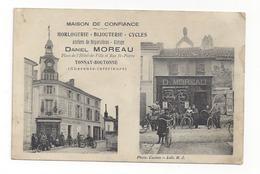 Tonnay Boutonne  -  Maison Daniel Moreau Place De L'Hôtel De Ville Et Rue St Pierre - Horlogerie Bijouterie Cycles - Francia