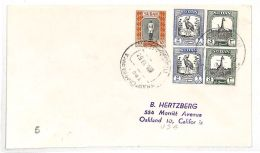 AK261 Upper Nile 1952 Oakland California USA Cover {samwells-covers}PTS - Otros - África