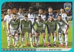 N°904 - Équipe Sochaux - Sochaux   - Sticker Foot 2016-2017 Panini - Panini