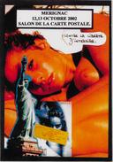 CPM Lardie JIHEL Salon Pirate Tirage Limité En 30 Exemplaires Signés Nu Féminin érotisme Mérignac Liberty - Bourses & Salons De Collections