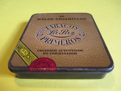 Boite En Fer Vide/Cigare/La PAZ/ Wilde Cigarillos/ Cigarros Autenticos No Terminados/Pays Bas/ /Vers 1960-70     BFPP114 - Altri