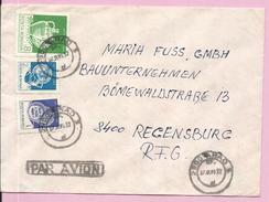 Letter , Arad, Romania, By Airmail - 1948-.... Republiken