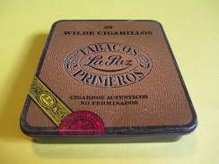Boite En Fer Vide/Cigare/La PAZ/ Wilde Cigarillos/ Cigarros Autenticos No Terminados/Pays Bas/ /Vers 1960-70     BFPP115 - Altri