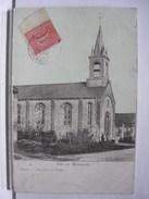 80 - MONTAGNE (MONTAGNE FAYEL) - EGLISE - ANIMEE - Frankreich