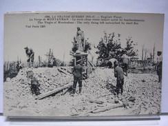 80 - LA GRANDE GUERRE - LA VIERGE DE MONTAUBAN - LA SEULE CHOSE RESTEE INTACTE APRES LES BOMBARDEMENTS - ANIMEE - 1921 - France