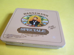 Boite En Fer Vide/Small Cigars/Speciale / DANNEMANN/Sumatra/Allemagne / /Vers 1980-90     BFPP108 - Sigaren - Toebehoren