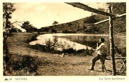N°31983 -cpa Savines -lac Saint Apollinaire- - France