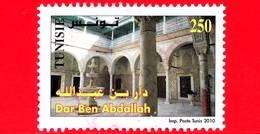 TUNISIA - Usato - 2010 - Monumenti Di Medina Di Tunisi - Dar Ben Abdallah - 250 - Tunisia (1956-...)