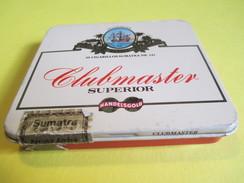 Boite En Fer Vide/20 Cigarillos Sumatra /Clubmaster Superior/Sumatra/Allemagne / /Vers 1980-90     BFPP109 - Sigaren - Toebehoren