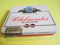 Boite En Fer Vide/20 Cigarillos Sumatra /Clubmaster Superior/Sumatra/Allemagne / /Vers 1980-90     BFPP109 - Altri