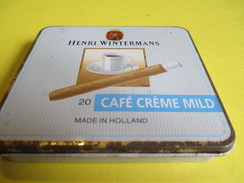 Boite En Fer Vide/20 Café Crème Mild/Henri Wintermans /Hollande / /Vers 1980-90     BFPP110 - Around Cigars