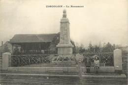 A-17-2479 :  MONUMENT AUX MORTS DE LA GRANDE-GUERRE 1914-1918. CORGOLOIN. - Autres Communes
