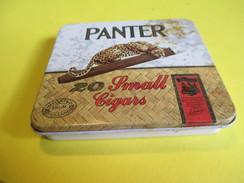 Boite En Fer Vide/20 Small Cigars / Vente En France/PANTER /Hollande / /Vers 1960-70     BFPP111 - Altri