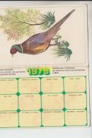 Faisan 1978 Samo Chips - Calendriers