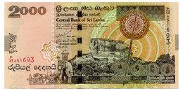 SRI LANKA 2000 RUPEES 2006 Pick 121b Unc - Sri Lanka