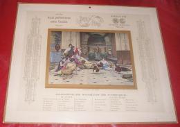 Calendriers 001, Grand Calendrier Publicitaire Année 1905, Format 44 X 36,5 Cm Publicité Léopold Verger Faubourg Poisson - Calendari