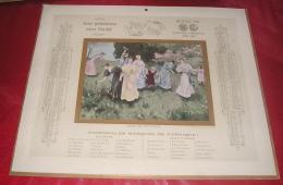 Calendriers 003, Grand Calendrier Publicitaire Année 1905, Format 44 X 36,5 Cm Publicité Léopold Verger Faubourg Poisson - Calendari