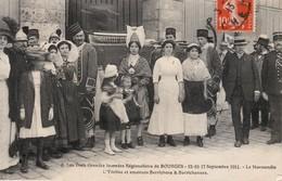 CPA Bourges (Cher) - Les Trois Grandes Journées Régionaliste - FRANCO DE PORT - Bourges