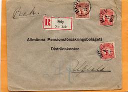 Seden 1911 Registered Cover Mailed