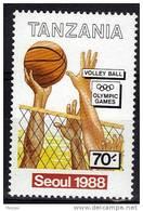 TANZANIE   N°    * *  JO 1988   Volley Ball