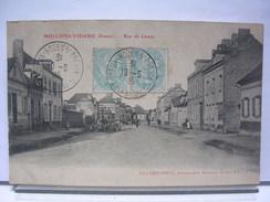 80 - MOLLIENS VIDAME - RUE DE CAMPS - ANIMEE - 1905 - France