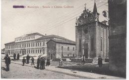 MUNICIPIO - SCUOLE E CHIESA COLLEONI - THIENE - VENETO - ITALY - Italia