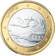 Finland 2017    1 Euro     UNC Uit De Rol  UNC Du Rouleaux  !! - Finlandía