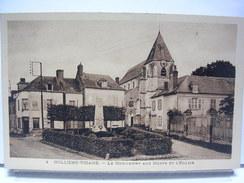 80 - MOLLIENS VIDAME - LE MONUMENT ET L'EGLISE - Francia