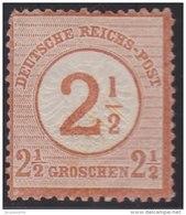 Deutsches  Reich         .         Michel     29        .            *              .         Ungebraucht Mit Gummi
