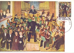 BRUXELLES THE MUSICAL PYRAMID  MAXIMUN  (FEB170043) - Belgio