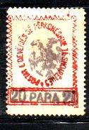 XP2161 - ALBANIA 1913 , Michel N. 25 Senza Gomma - Albania