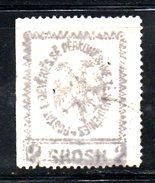 XP2162 - ALBANIA 1913 , Michel N. 25 Annullo Leggerissimo . Foro Di Spillo - Albania