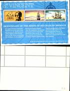 86726)   St. Vincent & Grenadines 1972 Bicent. Charles Brisbane Ships S/S MNH - VEDI FOTO - St.Vincent (1979-...)