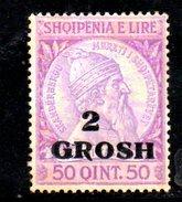 XP2171 - ALBANIA 1914 , Michel N. 45 *  Skandenberg - Albania