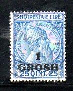 XP2173 - ALBANIA 1914 , Michel N. 44 Usato  Skandenberg - Albania