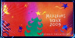 MEILLEURS VŒUX 2005   YT 3** - Blocs Souvenir