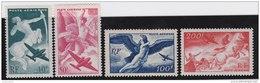 France   .      Yvert    .    Aérienne   16/19     .        **       .       Neuf   SANS  Charniere   .   /   .   MNH - Airmail
