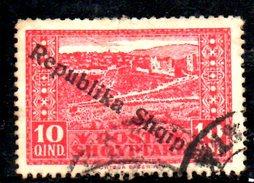 XP2198 - ALBANIA 1925 , Michel N. 119  Usato - Albania