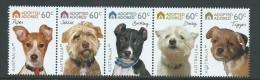 Australia 2010 Dog Adoption Strip Of 5 MNH - 2000-09 Elizabeth II